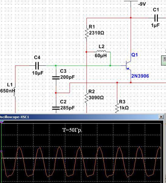 peak-to-peak 5 В. Схема