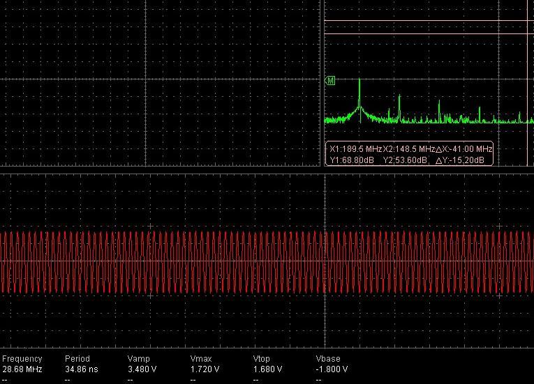 1)Что касается спектра сигнала