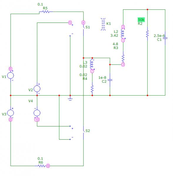 Схема преобразователь синусоидой на в
