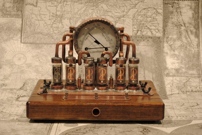 Часы на ин 14 лампах