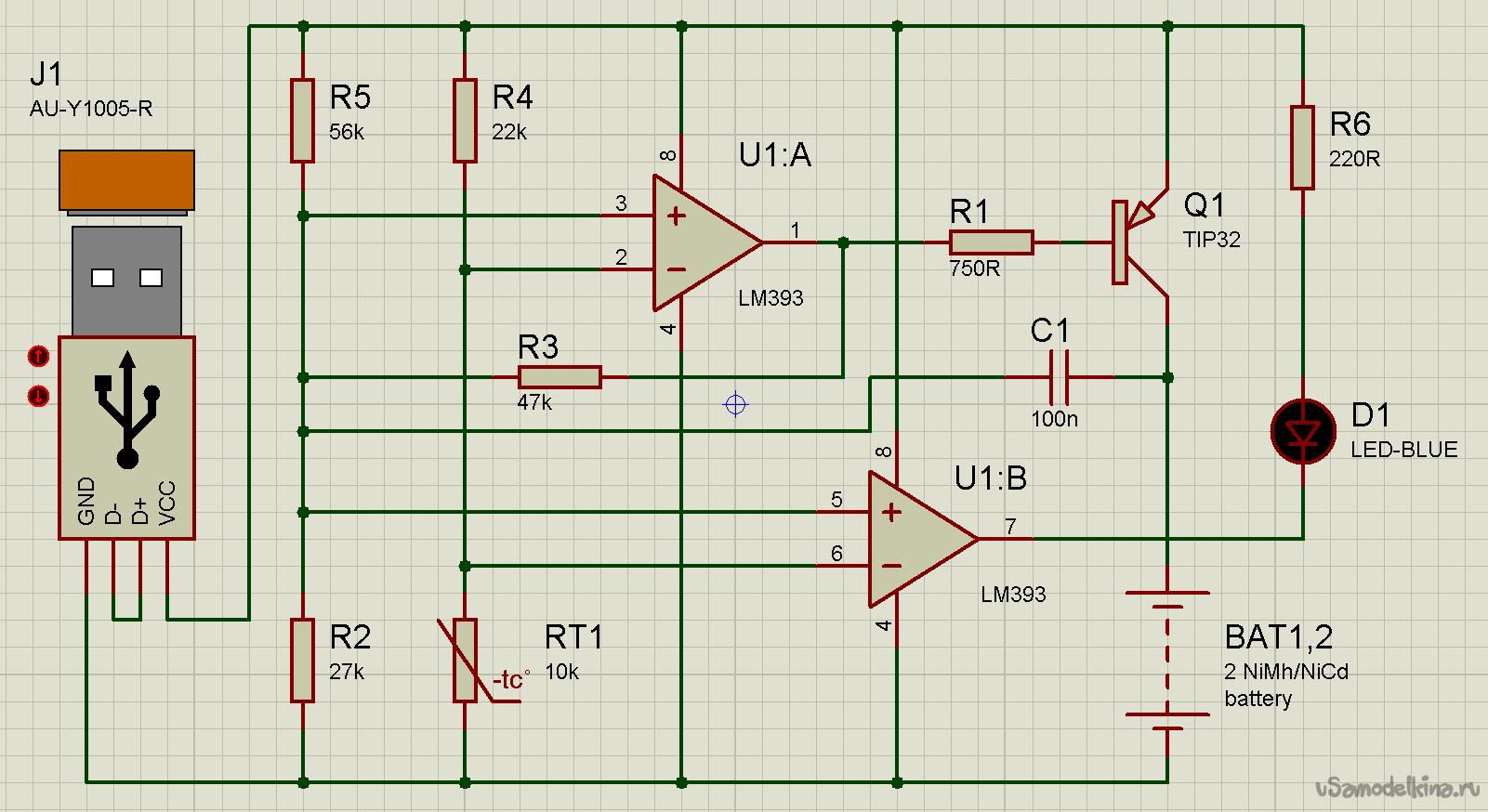 Схема батарейки мобильного телефона