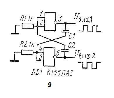 и скважность резисторами и
