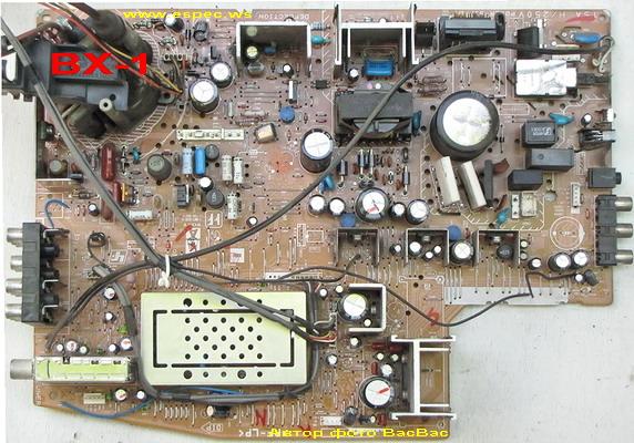 Sony kv-bz21m81 схема