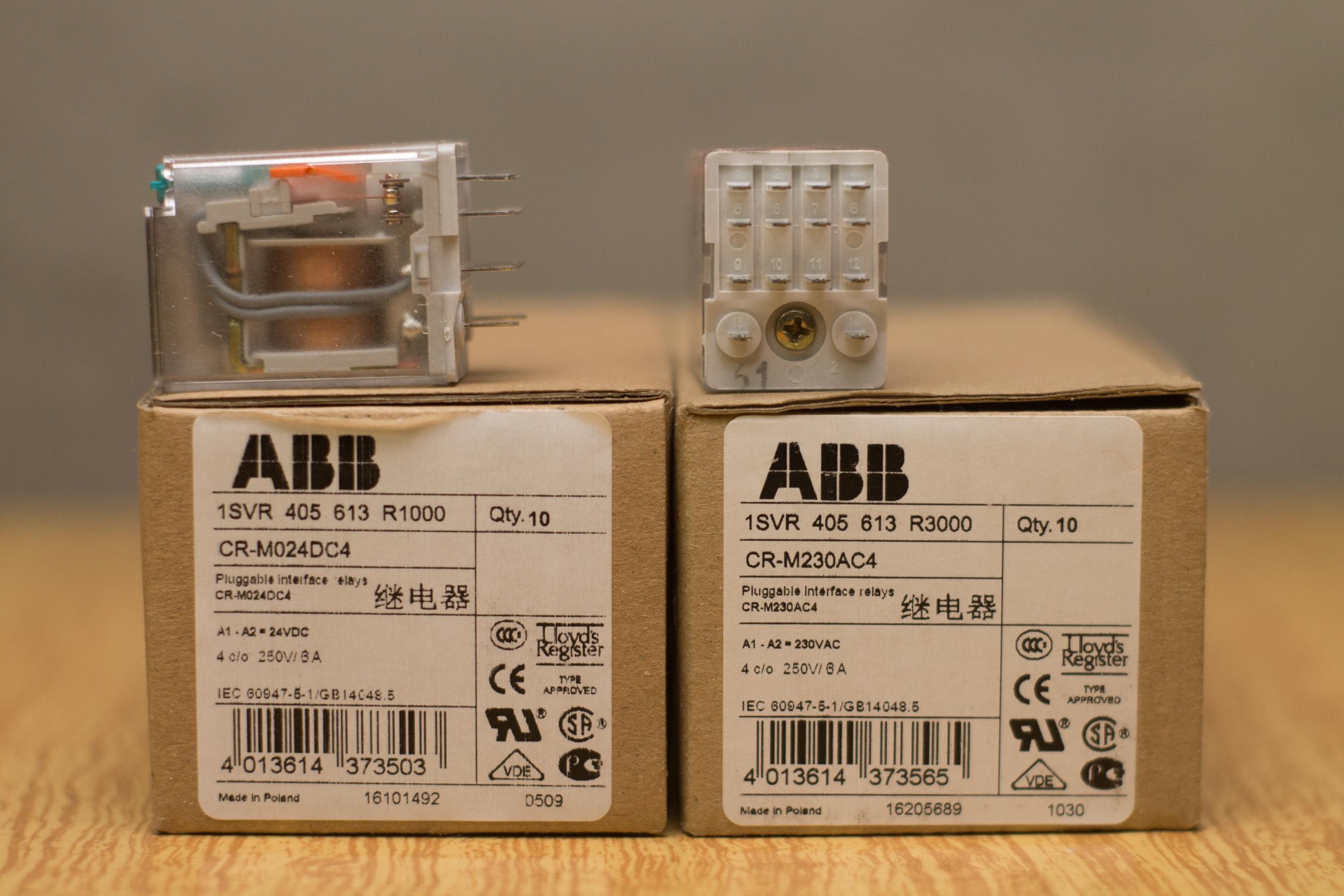 Abb cr m230ac4 описание схема подключения