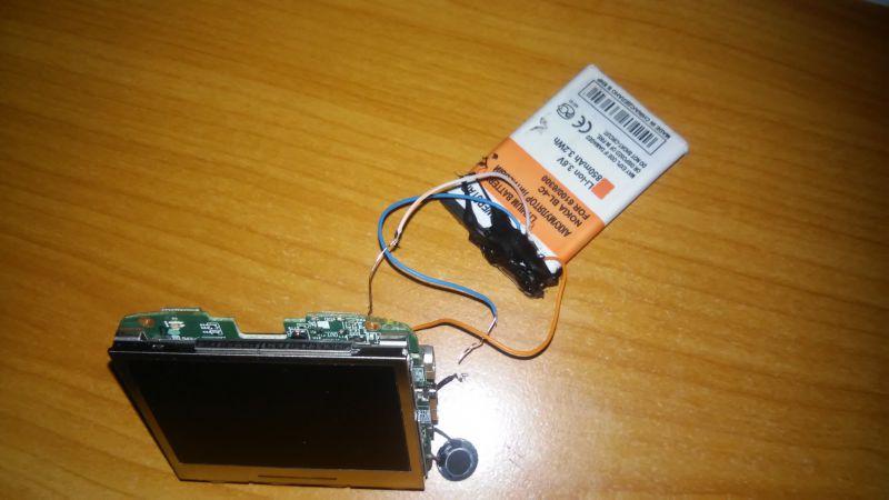 Замена аккумулятора в видеорегистраторе. Пошагово, своими