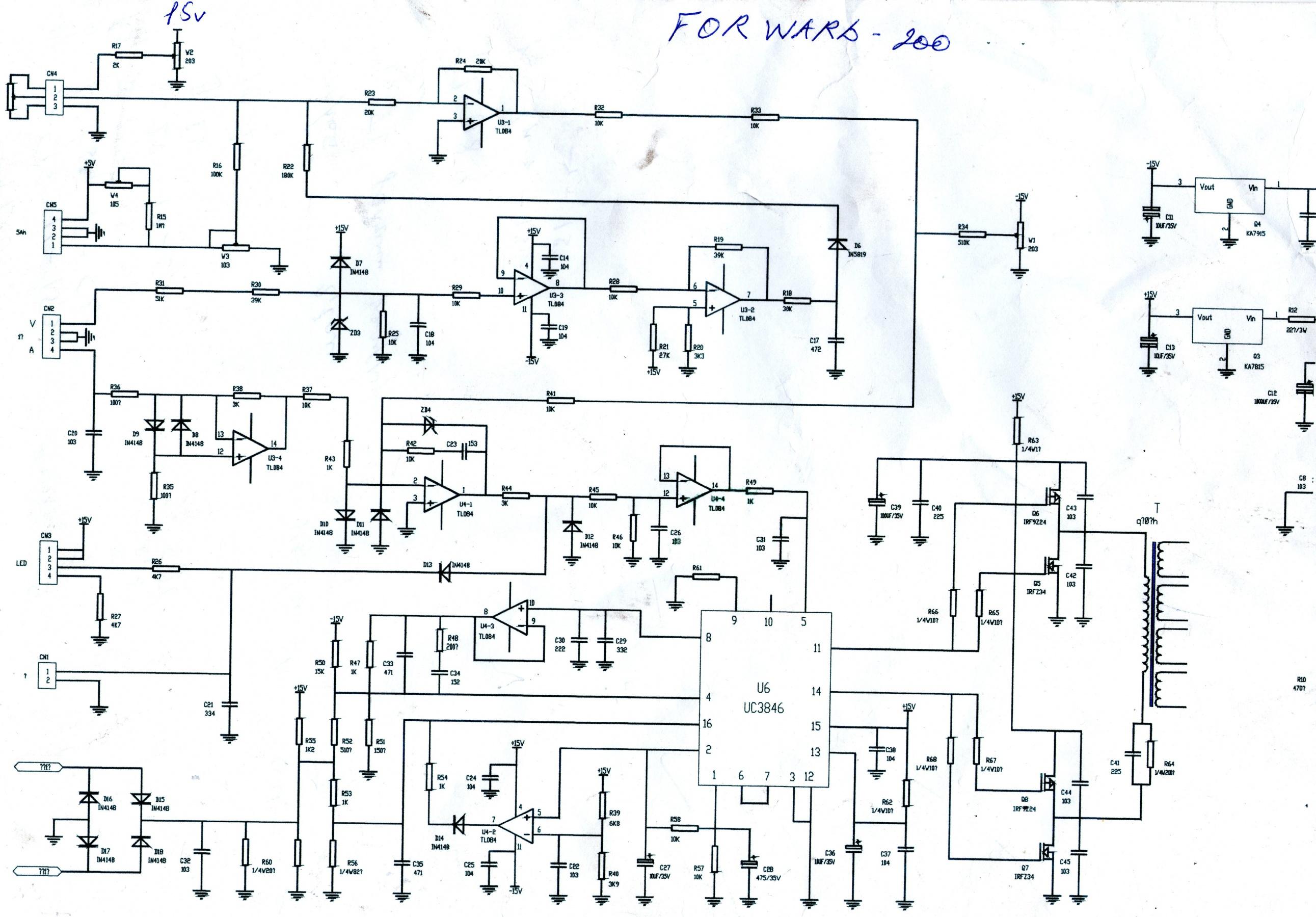 Схема инвертора сварис 200
