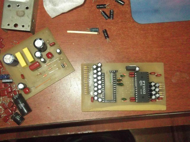 Аудиоконтроллер домашнего кинотеатра на микросхемах PT2323 pt2322 - Supa