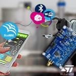 Плата STEVAL-IDB011V1 позволяет протестировать новый BLE 5.1-чип BlueNRG-LP в Компэл