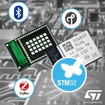Радиомодуль STM32WB5MMG для работы в сетях ZigBee, BLE и OpenThread в Компэл