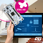 NUCLEO-H7A3ZI-Q – отладочная плата для графических линеек STM32H7 в Компэл