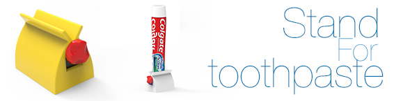 alt Stand for toothpaste