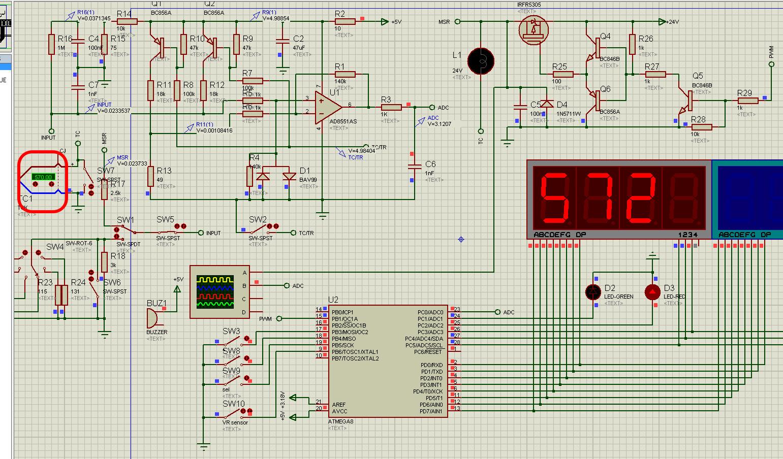 Паяльная станция с энкодером на atmega16 схема