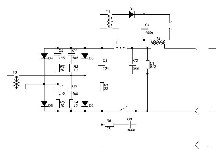 T3 - основной трансформатор