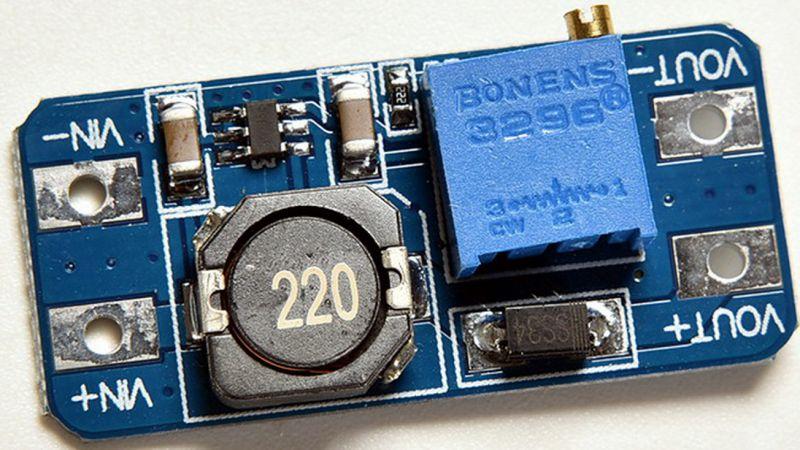 dc-dc mt3608 схема