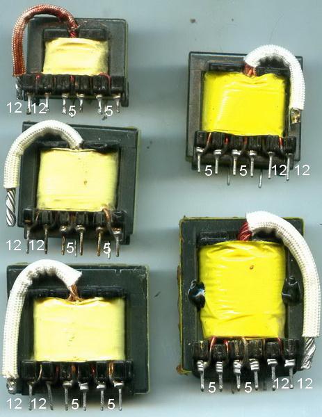 Импульсный трансформатор для блока питания своими руками 300