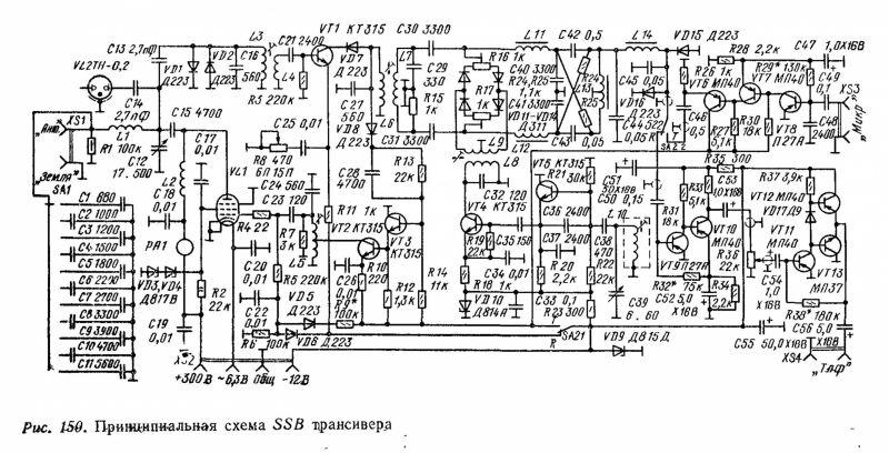 Схема азов трансивера
