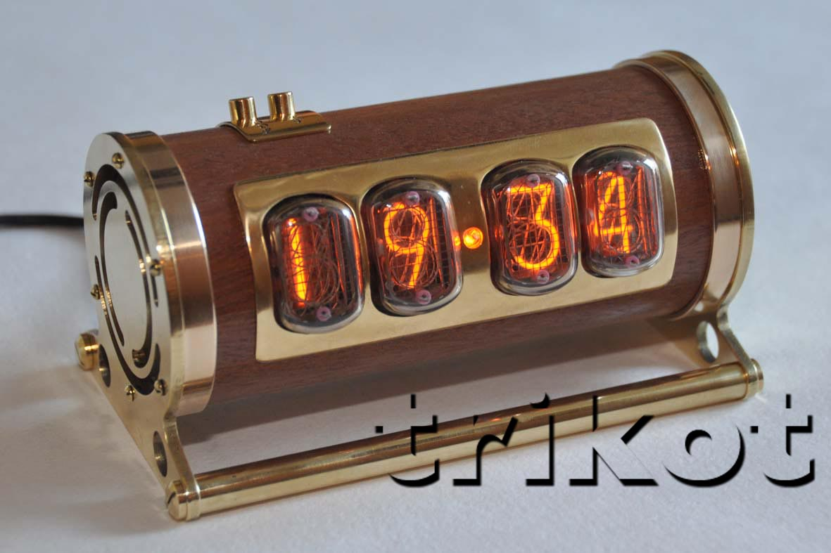 Газоразрядный индикатор часы своими руками 839