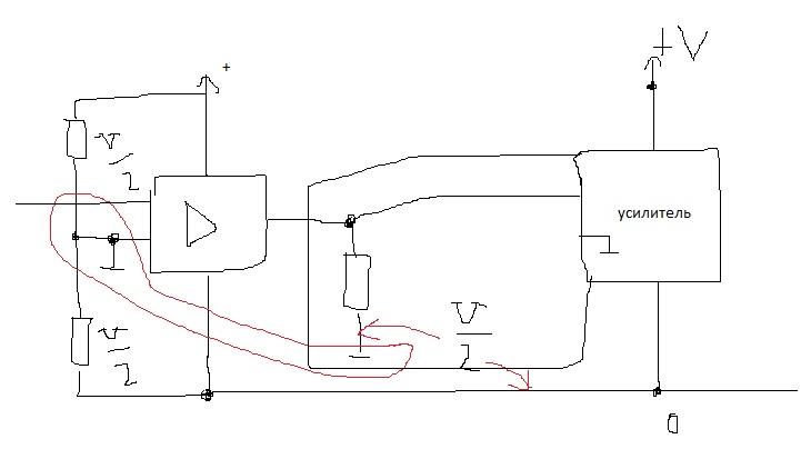Двуполярное напряжение из однополярного  Электрические схемы