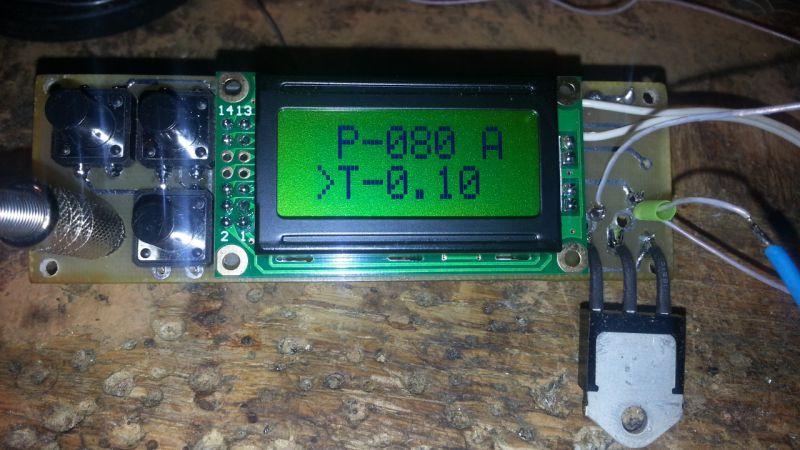 Микроконтроллерный таймер для споттера своими руками 65