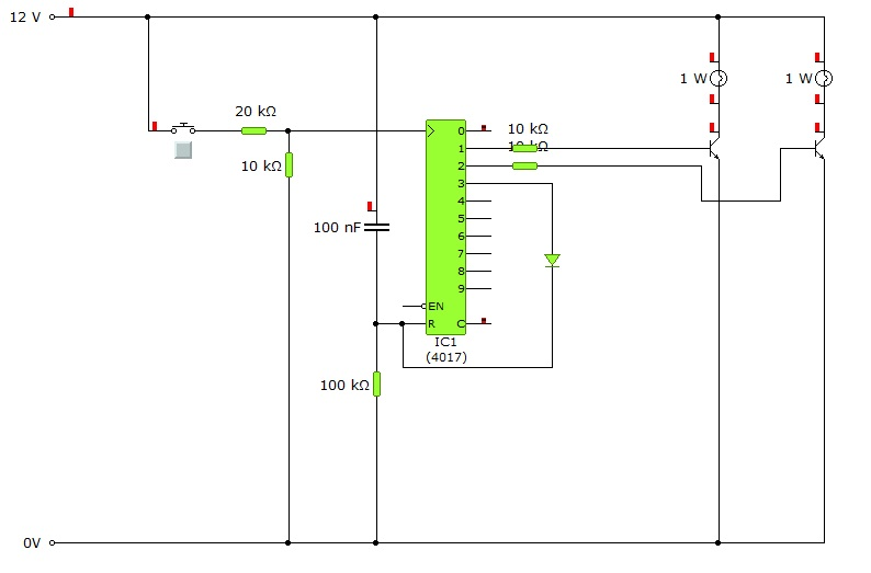 Схема с транзисторами
