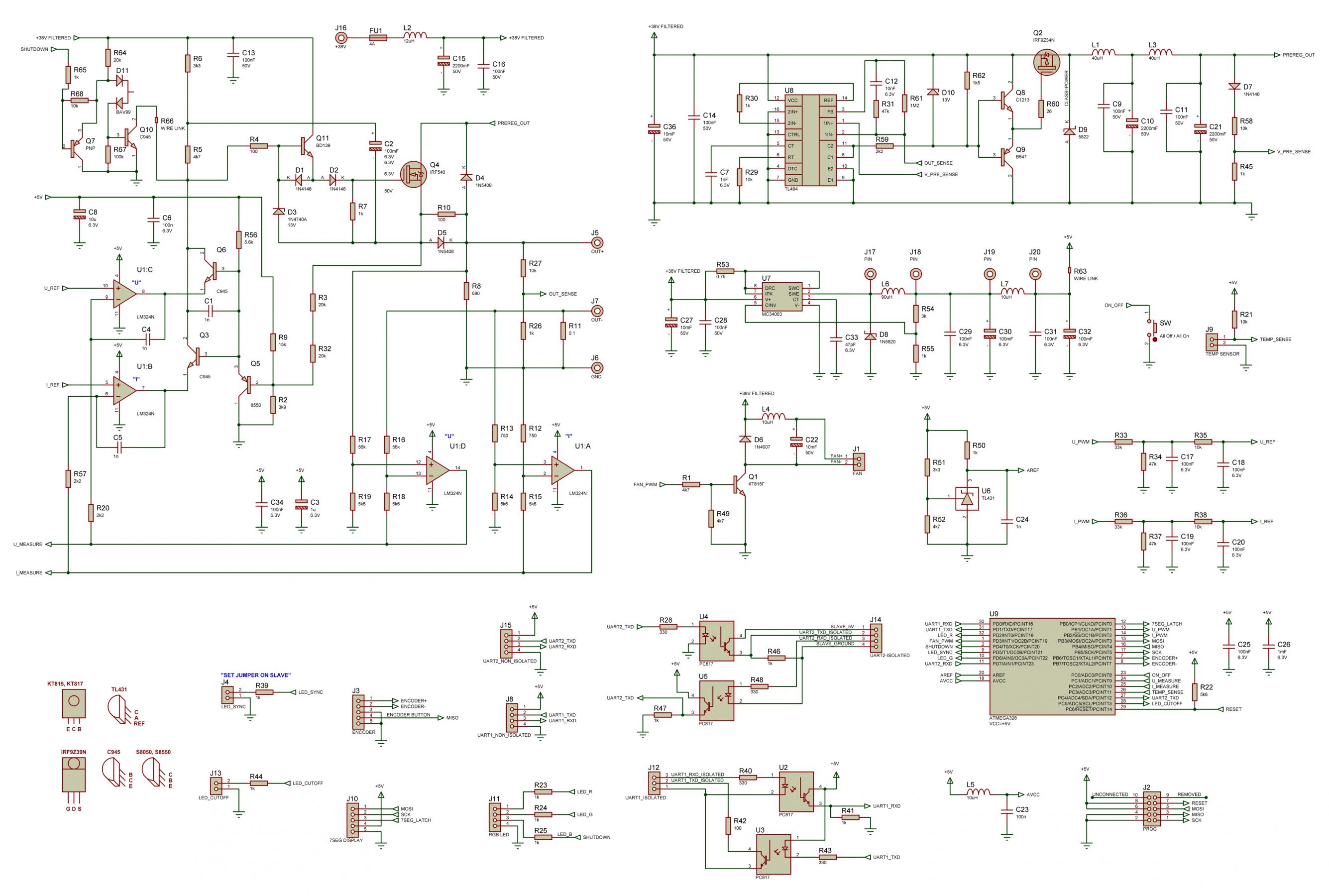 схема включения микросхемы шим-контроллера atx 2005