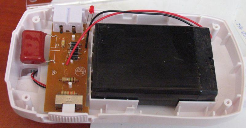 Ремонт своими руками светильник эра модель nled-421 схема