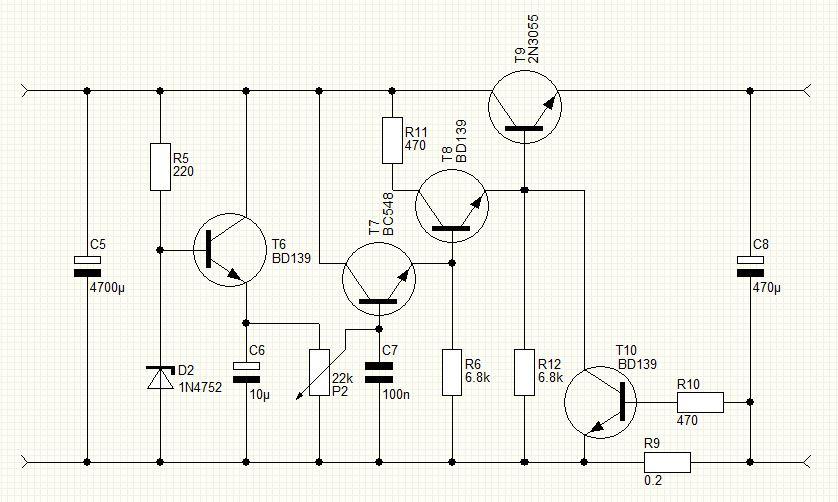Схема регулятора мощности на 12 вольт 10 ампер своими руками 11