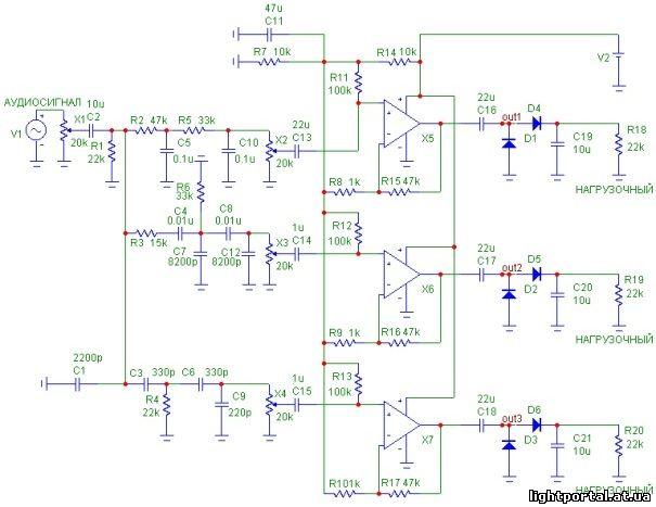 Нашел схему ШИМ модулятора.