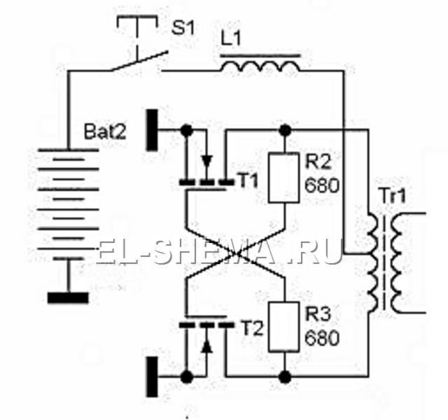 Мощные преобразователи на полевых транзисторах схемы