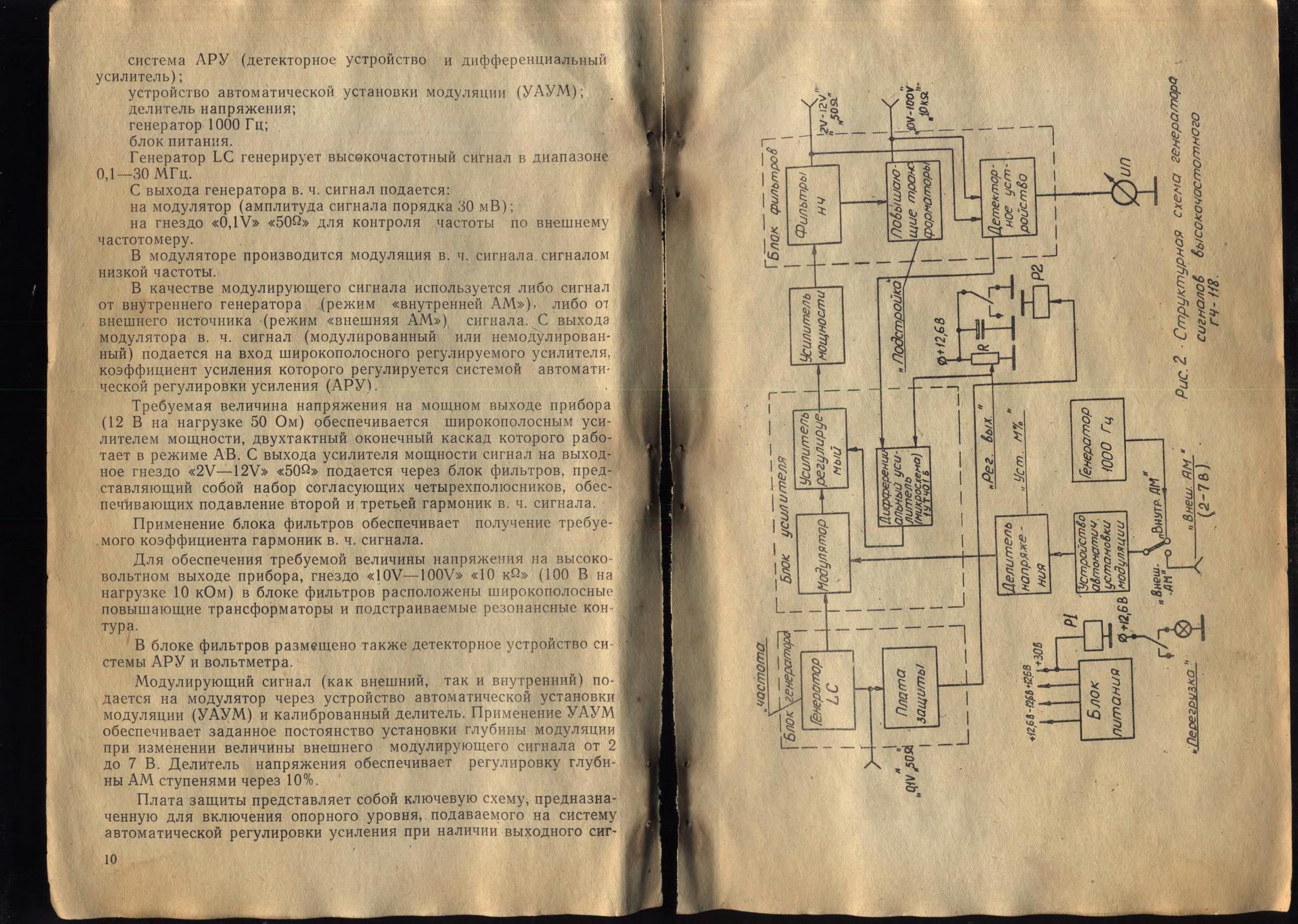 Вольтметр ф4830 схема