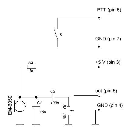 этой схеме конденсатор C1.