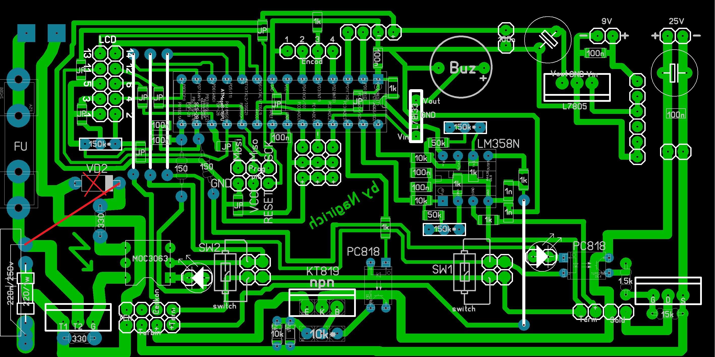 Паяльная станция на микроконтроллерах своими руками 8