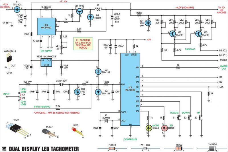 Автоэлектроника схемы своими руками 80