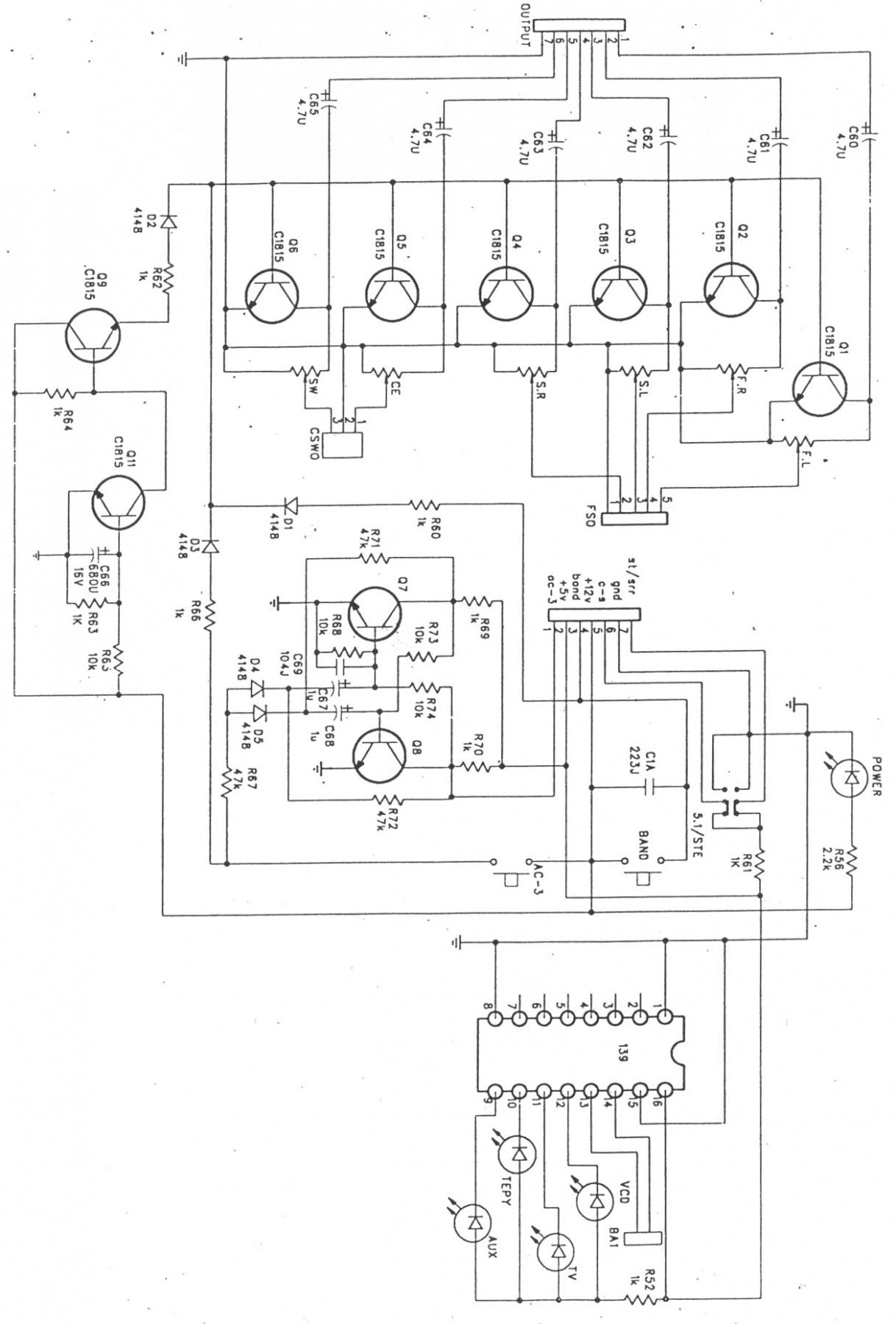 Ремонт акустики sven ihoo mt 5. 1 » схема. Ru радиолюбительский портал.