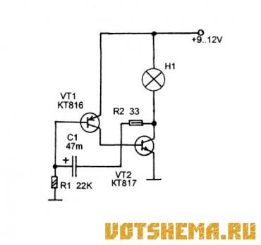 Заметил что транзистор VT 2