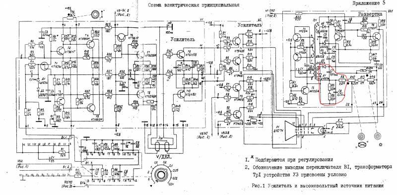 Ремонт осцилографа С1-94