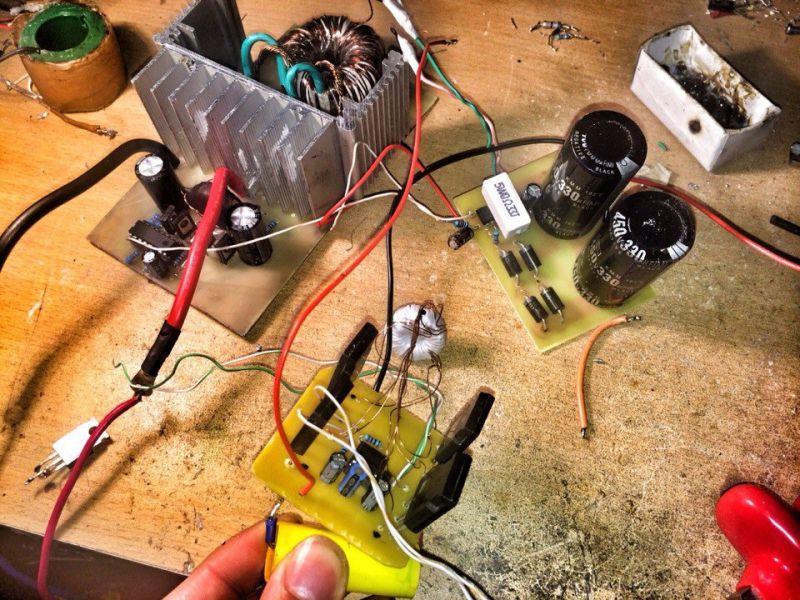 Электроудочка своими руками из блока питания