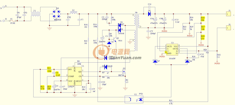 Схема блока питания dvs v3232 ews 120