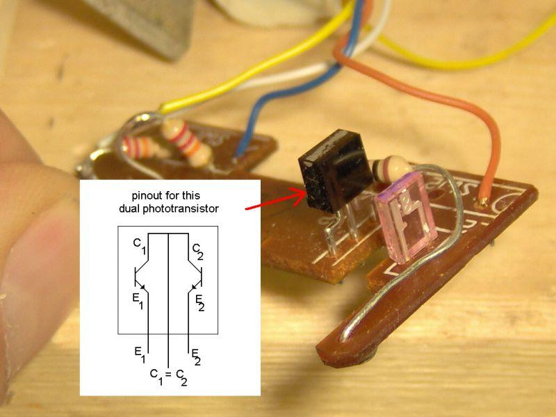 тут скрывается фототранзистор из мышки родная живи