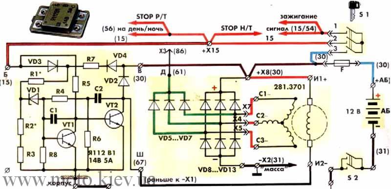 Регулятор напряжения трехуровневый схема фото 510