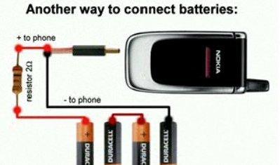 Зарядное устройство из сотового телефона своими руками