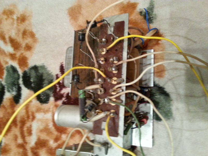 накал) схема магнитофона