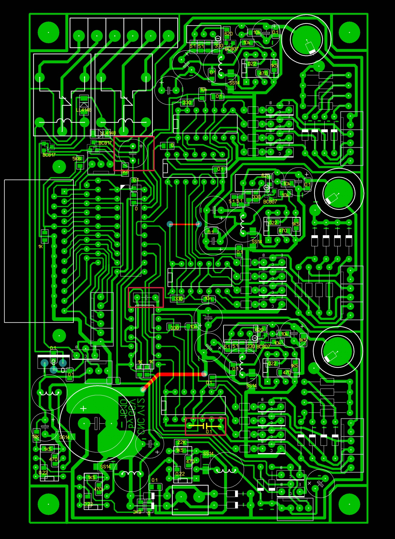 схема контроллера станка чпу на uln2003