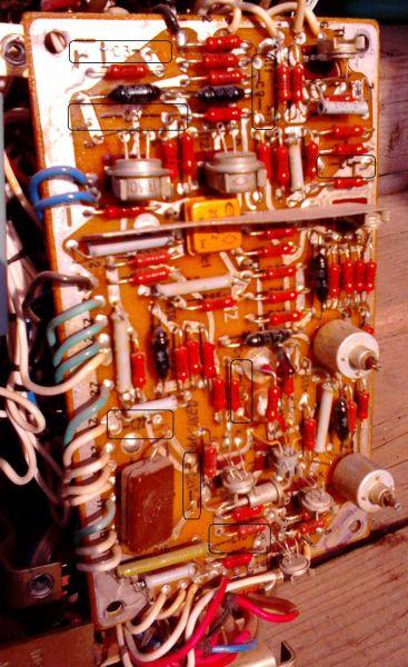 Ремонт осциллографа С1-68