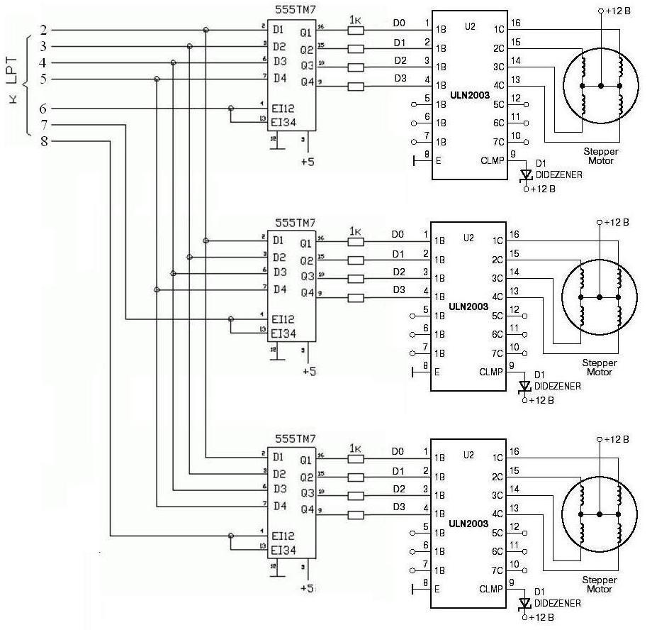 Схема для чпу станка своими руками